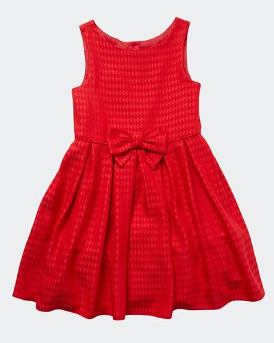 Girls Red Party Dress (3-10 years)