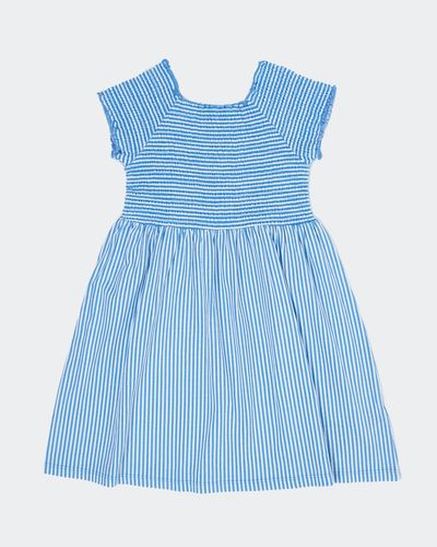 Girls Smocked Jersey Dress (2-10 years)