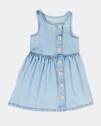 Girls Button Dress (2-8 years)
