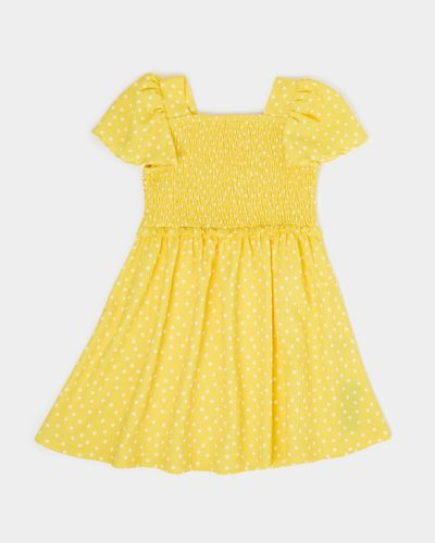 Girls Smocked Crinkle Dress (3-8 years)