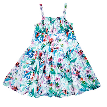 Younger Girls All-Over Print Sundress