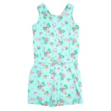 aqua Younger Girls Printed Playsuit