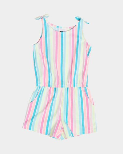 Girls Jersey Playsuit (4-14 years)