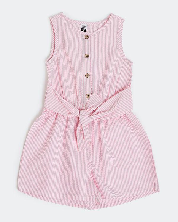 Girls Stripe Playsuit (4-10 years)