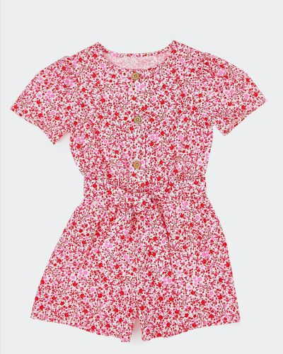 Girls Printed Playsuit (2-8 years)