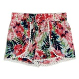 print Younger Girls Printed Shorts