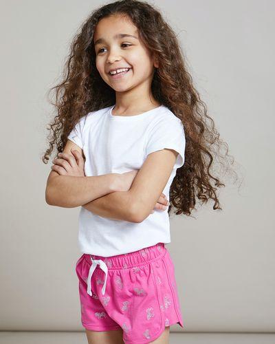 Girls Print Shorts (4-14 years)