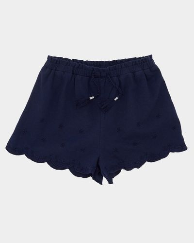 Girls Jersey Embroidered Shorts (4-14 years)