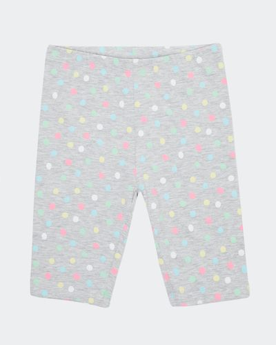 Girls All Over Print Cycle Shorts (2-10 years)