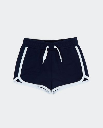 Girls Loopback Shorts (2-14 Years)