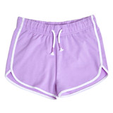 lilac Older Girls Runner Shorts