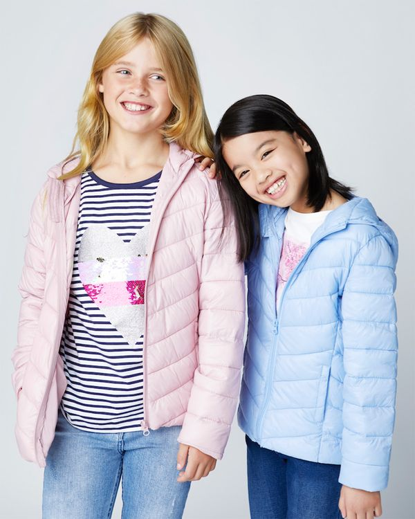 Girls Superlight Hooded Jacket (3-14 years)