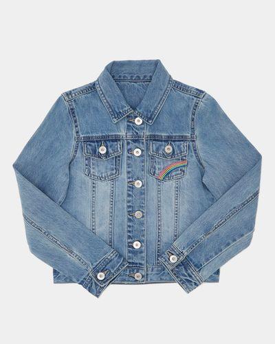 Older Girls Embroidered Denim Jacket (8-14 years)
