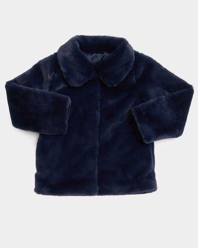 Girls Faux Fur Jacket (2-8 years) thumbnail