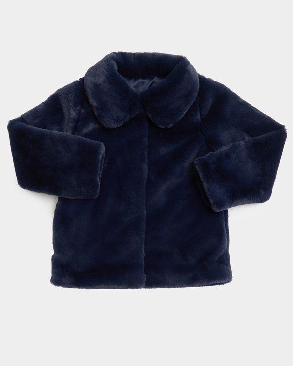 Girls Faux Fur Jacket (2-8 years)