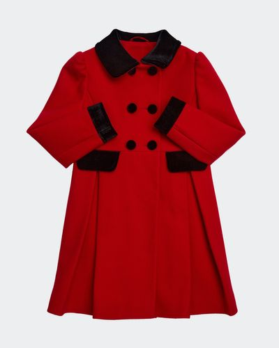 Girls Red Coat (2-8 years)