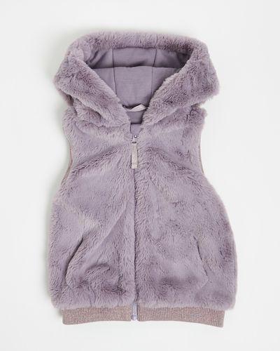 Girls Faux Fur Gilet (2-8 years)