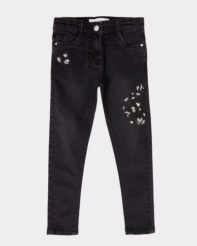 Girls Sequin Jeans (3-8 years)
