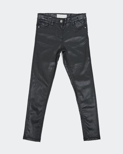 Girls Coated Skinny Jean (7-14 years)