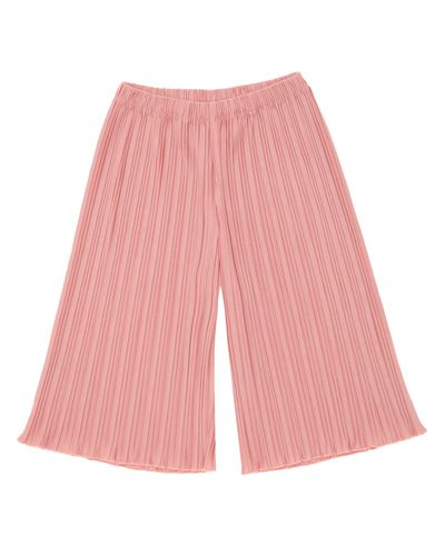 Girls Pleated Leg Trousers (4-14 years)