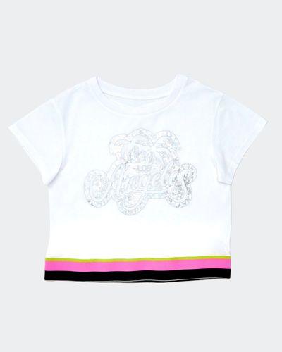 Girls Tape Hem T-Shirt (8-14 years)