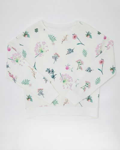 Girls Floral Sweater (4-10 years)