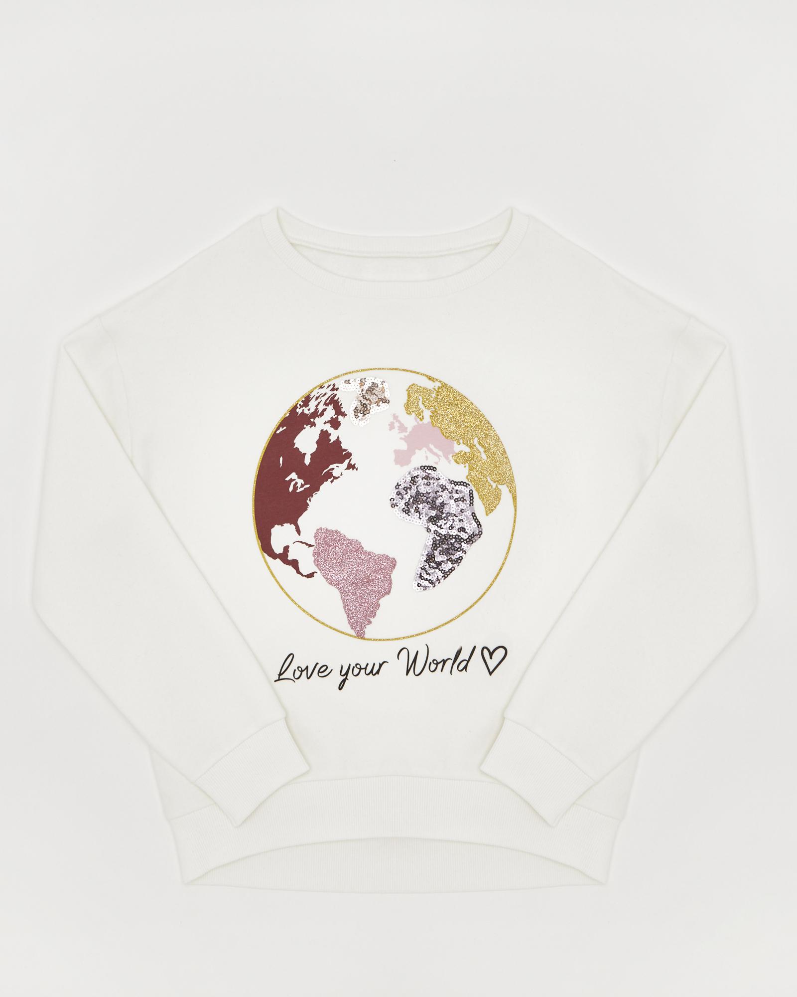 Girls World Sweater (8-14 years)