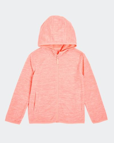 Girls Hooded Microfleece Zip Through (2-14 Years) thumbnail