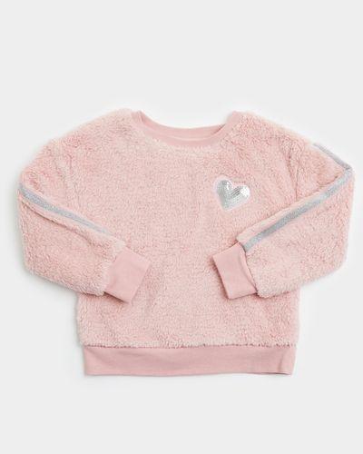 Girls Lurex Fluffy Sweater (3-8 years) thumbnail