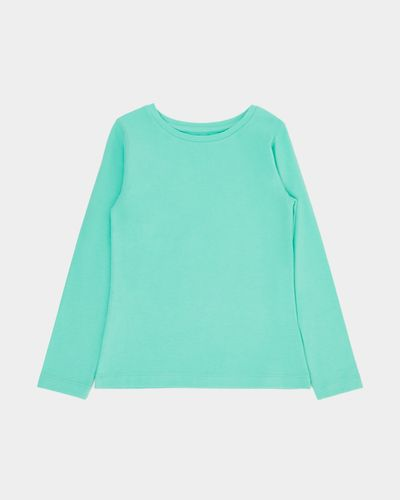 Girls Stretch Long-Sleeved Top (4-14 years)