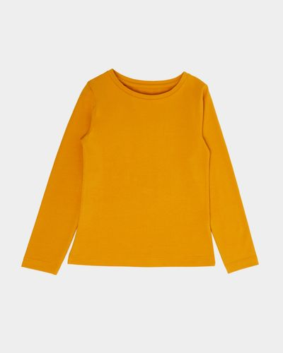 Girls Stretch Long Sleeve Top (2-14 Years) thumbnail