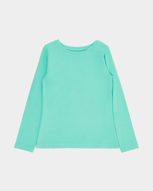 Girls Stretch Long-Sleeved Top (2-14 years)