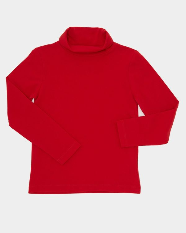 Girls Jersey Polo Neck (4-10 years)