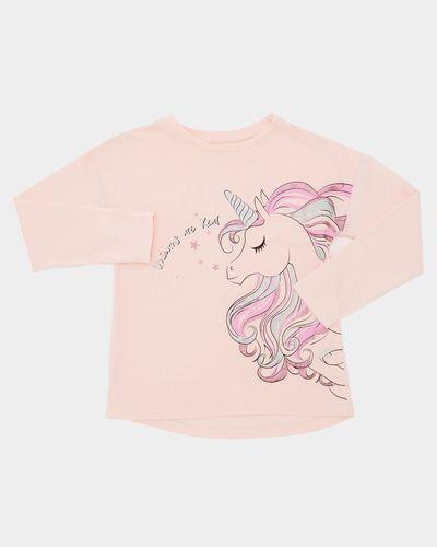 Girls Printed Long-Sleeved Top (4-10 years)