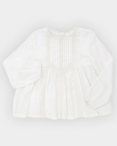 Girls Woven Lace Top (4-10 years)