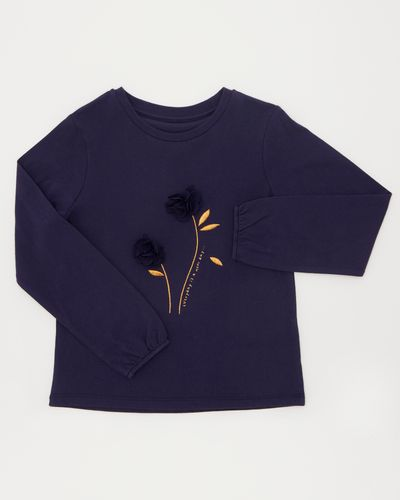 Girls 3D Top (4-10 years)
