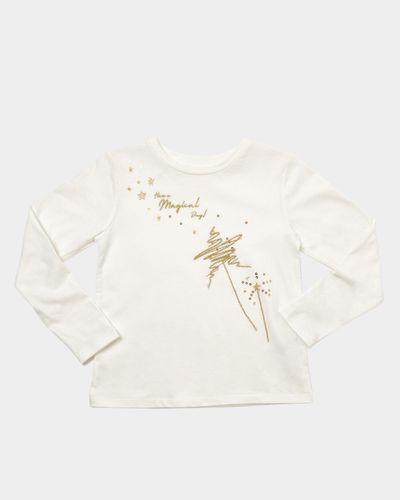 Girls Embellished Long Sleeve Top (2-8 years)