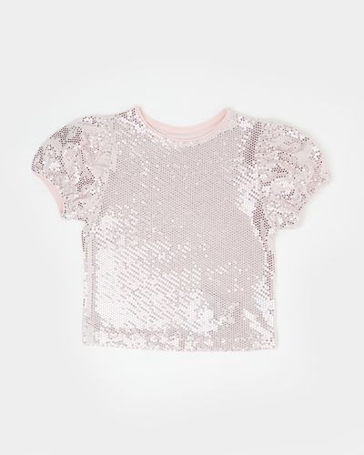 Shimmer Puff Sleeve Top (2-8 years)