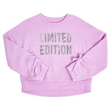 lilac Older Girls Limited Edition Sweater