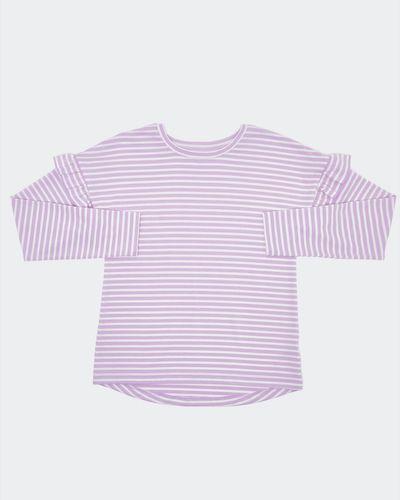 Girls Lurex Stripe Long-Sleeved Top (7-14 years) thumbnail