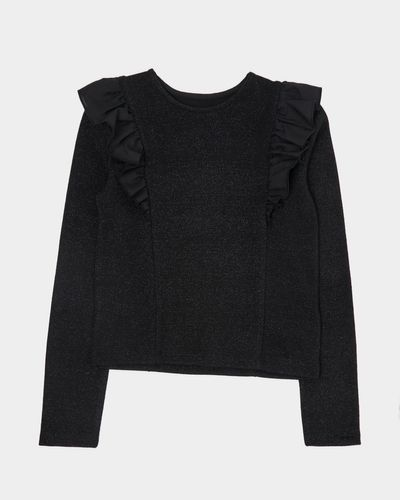 Frill Lurex Top (7-14 years)