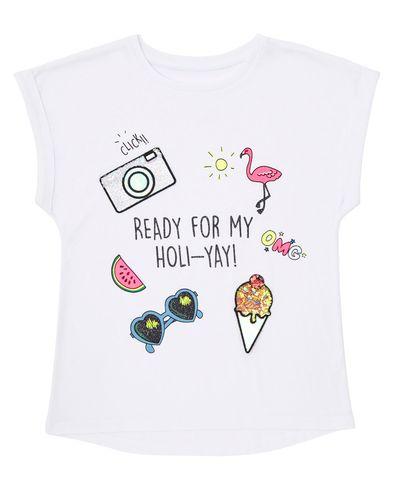 Girls Flippy 3D T-Shirt (4-10 years)