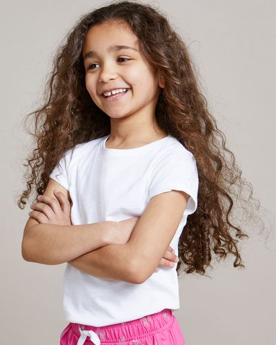 Girls Slub T-Shirt (4-14 years)