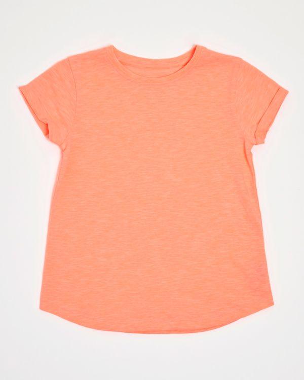 Girls Slub T-Shirt (4-14 years)