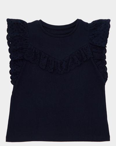 Girls Broderie T-Shirt (4-10 years) thumbnail