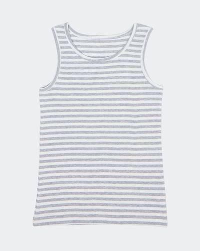 Girls Rib Vest (2-14 years)