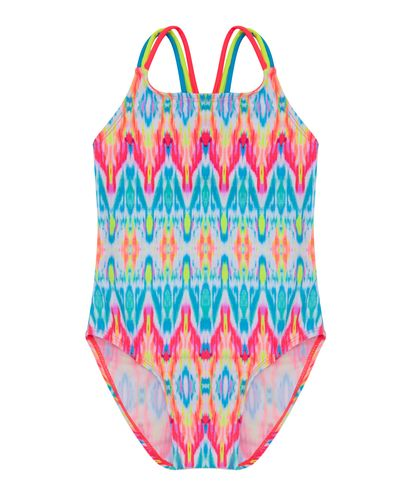 Girls Aztec Swimsuit (4-14 years)