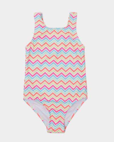 Girls Print Swimsuit (4-14 years)