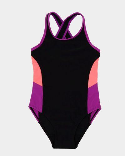 Girls Panel Swimsuit (4-14 years)