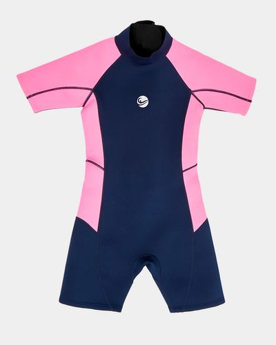 Girls Short-Sleeved Wetsuit (2-14 years)